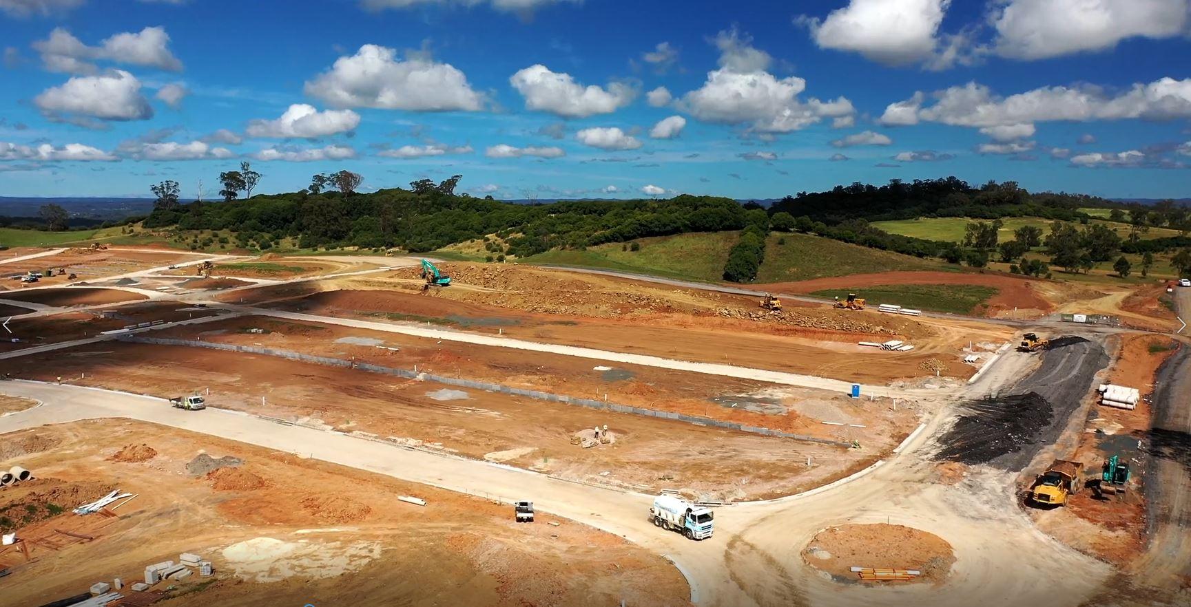 Oxley Ridge Ironbark Neighbourhood Civil Construction Moving Ahead